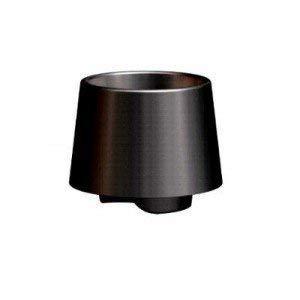 Adiserve Duo Starck Tasse Noire, cuillère à café Cristal par 10