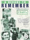 A Decade To Remember - 1940s [UK Import]