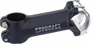 Procraft Vorbau Ahead 4bolt II OS 6° SW/Kappe S, schwarz, 100MM 31,8MM, 11307724 (Vorbau 100 Mm)