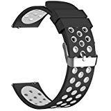 Top4cus Sport universel de remplacement en silicone Bracelet de montre pour Huawei...