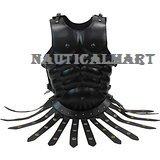 Nauticalmart médiéval Noir grec Royal musculaire Armour Costume