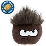 """DISNEY CLUB PENGUIN BLACK PUFFLE WITH COIN CODE 6"""""""