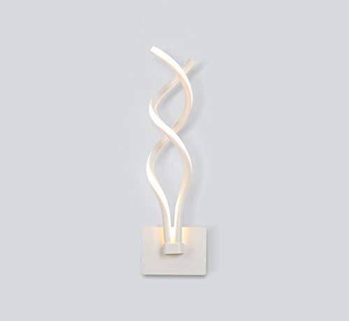 , einfache post-modernen Lichter der Art Lounge engagierte ridor, Treppen, die LED-Beleuchtung Schlafzimmer Nachttischlampe Lesen (Farbe weiß) ()