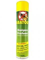 Abatout Guêpes Frelons Foudroyant 600 ml