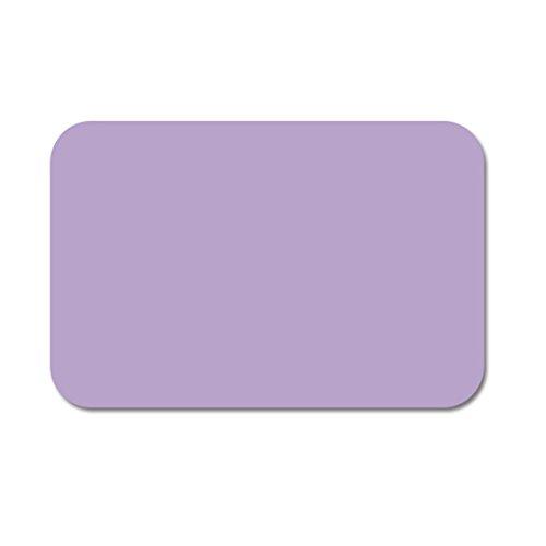 GWELL Super Saugfähig Badteppich Badvorleger aus Kieselgur Schnell Trocknend Anti-Rutsch Badematte Fußmatte violett