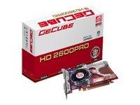 ATI Radeon HD 2600PRO 256MB GDDR2 128-bit FAN PCI-Express S Video /HDTV-out Dual link DVI RETAIL - Dual S-video