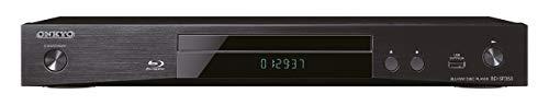 Onkyo Blu-ray Disc-Player, BD-SP353-B, für Wiedergabe von Blueray, DVD und Audio-CDs, Surround Klang durch Dolby TrueHD, DTS-HD, hochauflösende Videosignale in 1080p, HDMI/USB Anschluss, Schwarz