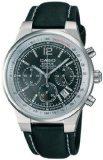 Casio orologio uomo pelle nero Edifice EF-500L-1AVDF