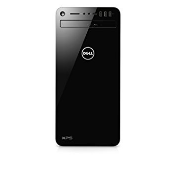 Dell XPS 8930-740BLK Tower Desktop - 8th Gen. Intel Core i7-8700 6-Core up to 4.60 GHz, 16GB DDR4 Memory, TB SATA Hard Drive, 4GB Nvidia GeForce GTX 1050Ti, Black