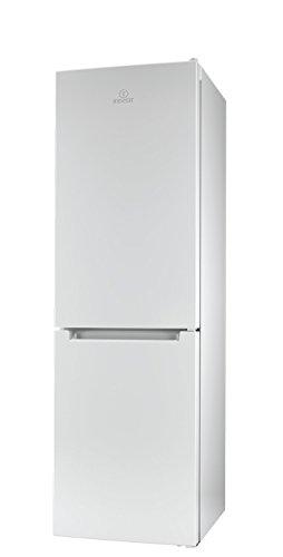 Indesit LI8 FF2 W Kühl-Gefrier-Kombination / 189 cm Höhe / 255 kWh / 215 Liter Kühlteil / 90 Liter Gefrierteil/NoFrost, nie mehr abtauen/nur 0,699 kWh / 24 Stunden/weiß
