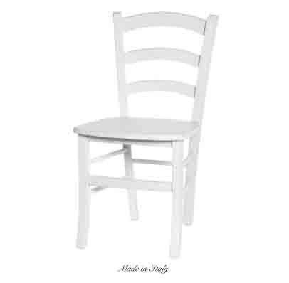 Sedia in legno stile vintage disponibile in diverse rifiniture L'ARTE DI NACCHI 4936/SH