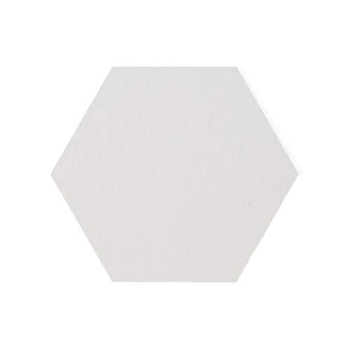 ZB-KK SZQ-Akustikplatten Dekorative Vorstand Filz, Kreativ Hexagon Filzpappe Startseite Regal Hotel Restaurant Felt Foto Wall Größe: 30 cm * 26cm * 9MM Akustikschaumstoff (Color : #5) -