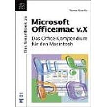 Das SmartBook zu Microsoft Office: mac v.X.