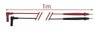 Ega Master Handtuch Mikrofaser–CATIII–600V Messleitungen grünen kurze egatronik (Alligator Handtuch)