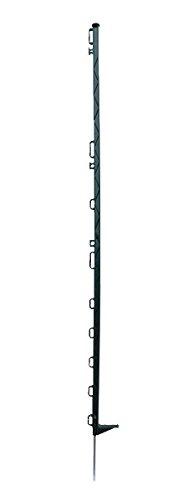 "Weide- / Elektrozaun KUNSTSTOFF-PFÄHLE ""standard"" (Höhe: 138 cm / mit 12 Ösen) 10 STÜCK, grün"