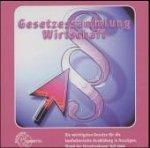 Gesetzessammlung Wirtschaft, 1 CD-ROM Die wichtigsten Gesetze für die kaufmännische Ausbildung in Auszügen. Für Windows ab 3.1/95/NT