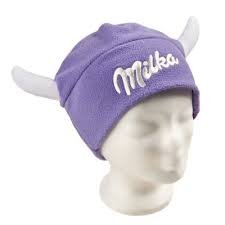 Price comparison product image Milka horn Fleece beanie one size
