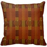 ruggine rosso scuro arancione bruciato plaid Heart pattern throw RC2E016754 C374FA286FF8E5CDB480 C0 F