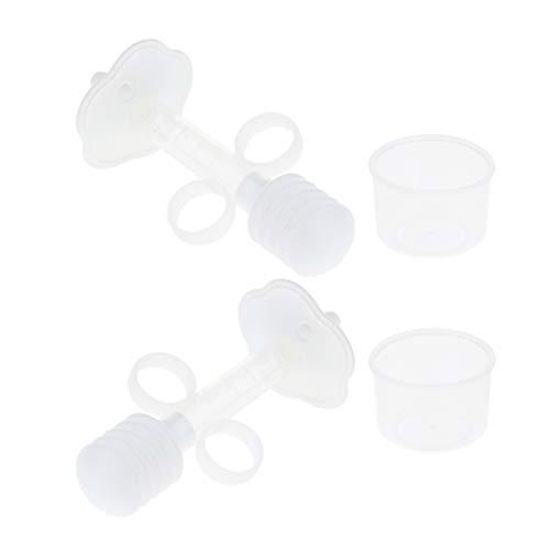perfk 2 Stück Kleintier Ernährung Spritze Dosierspritze Milch Medikamenten Fütterung Werkzeug