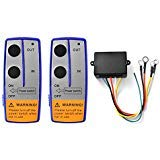 BARHAR 12V Wireless Remote Control Kit for Truck Jeep ATV Winch