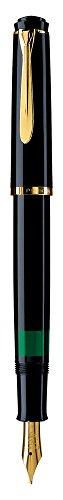 Pelikan M200 Fuente Pluma Elegancia Negro F