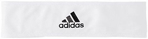 adidas Ten TIEBAND Head Band, White/Reflective Silver/Black, OSFM
