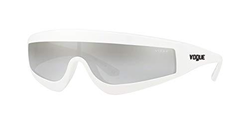 Ray-Ban Damen 0VO5257S Sonnenbrille, Schwarz (White), 40.0