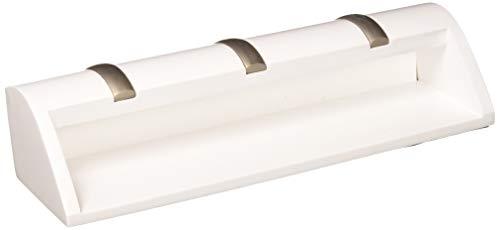 flur ablage Umbra 1004250-660 Cubby Mini-Aufbewahrung, Holz, weiß, 27,62 x 5,71 x 7,62 cm