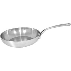Vogue Tri-Wall Frying Pan 11 In 280mm Stainless Steel Fry Kitchen Cookware
