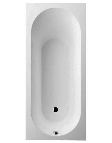 Villeroy & Boch Badewanne Rechteck Oberon 160x75cm weiß (alpin), UBQ160OBE2V-01