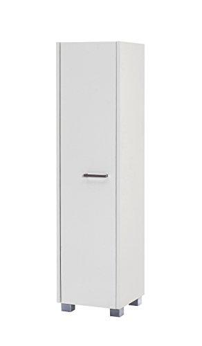 Schildmeyer Laif Highboard, Holz, Weiß, 30 x 30.2 x 120.2 cm