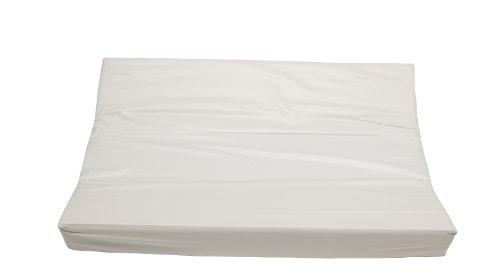 Preisvergleich Produktbild Jollein 021_0000 Wickelkissen, 50 x 70 cm, weiß
