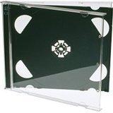 CD doppio Jewel Cases 10.4mm per 2dischi con vassoio nero (confezione da 25) di marca Dragon Trading