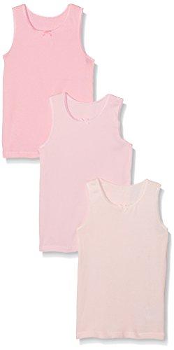 Mothercare Mädchen Unterhemd Pink-3 Pack, Rose, 3-4 Jahre