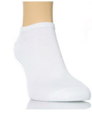 6 Pairs mens Plain White Trainer Socks 6-11