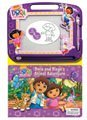 dora-the-explorer-dora-diegos-animal-adventure-book-and-magnetic-drawer-by-viacom-2009-08-02
