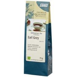 EARL Grey schwarzer Tee Blatt-Tee Bio Salus 75 g Tee (Roter Tee Lose-blatt)