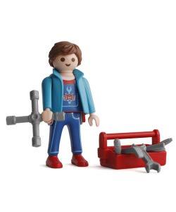 Promohobby Figura de Playmobil Serie 15 Mecanico