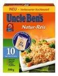 Uncle Ben's Natur-Reis 500g 10 Minuten Kochzeit