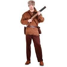 Imagen de disfraz adulto trampero cazador