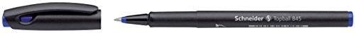 Schneider Topball 845 Tintenroller (stabiler Edelstahlspitze, 0,3 mm) 10er Packung blau
