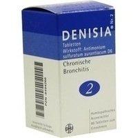 DENISIA 2 chronische Bronchitis Tabletten 80 St Tabletten