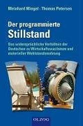 Der programmierte Stilstand: Das widersprüchliche Verhältnis der Deutschen zu Wirtschaftswachstum und materieller Wohlstandsmehrung