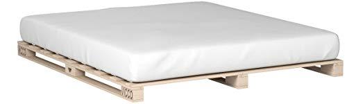Vicco Palettenbett Bett Holz Massivholzbett 90 100 120 140 160 180 200 x 200cm, Palettenmöbel Made IN Germany (180x200)