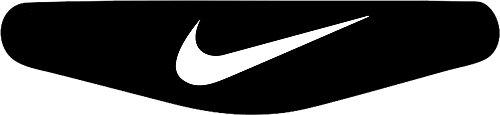 Play Station PS4 Lightbar Sticker Aufkleber Nike Logo (schwarz) -