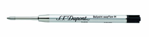 st-dupont-medium-ballpoint-defi-refill-black-pack-of-2