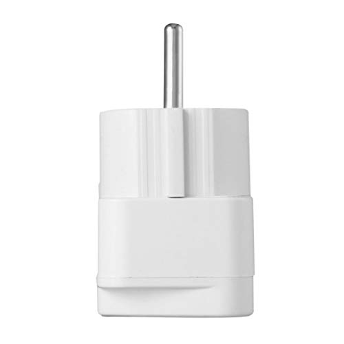 Universal Adapter Electrical Plug for AU US UK to EU AC Power Plug Travel Home Socket Converter Adapter White Universal-travel-plug