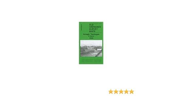 OLD ORDNANCE SURVEY MAP ARMAGH TANDRAGEE 1900 PORTADOWN MOY RICHILL GILFORD