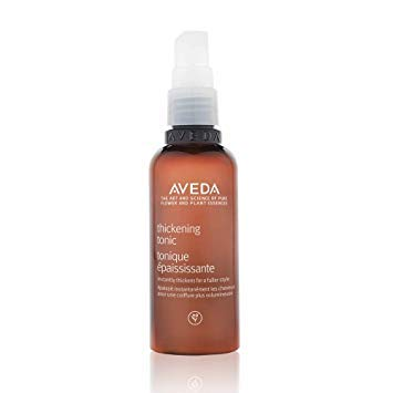 Aveda Thickening Tonic - productos para fortalecer el cabello (Mujeres, Thin hair, Voluminizadora, Spray on thickening tonic thoroughly from roots to ends, in sections. Comb through to distribute eve)