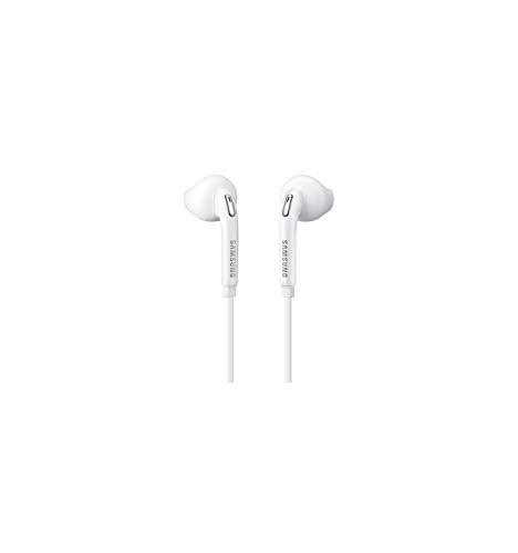Samsung 3700664152936 Stereo-Kopfhörer für Galaxy S6 weiß Original Kopfhörer